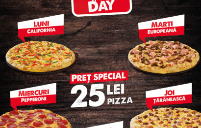 Pizza Hut Delivery lanseaza oferta Pizza of the Day