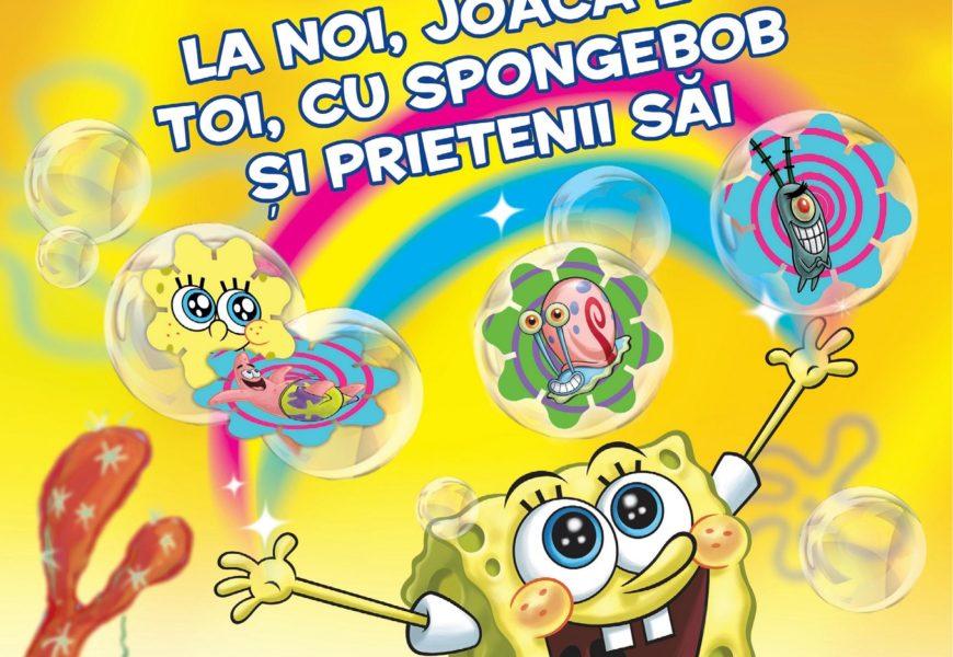 SpongeBob vine în magazinele Kaufland