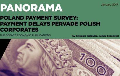 Coface: Tot mai multe companii din Polonia înregistrează întârzieri la plată