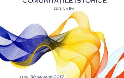 """Gala Premiilor de Excelență pentru Românii din Comunitățile Istorice, la Teatrul """"I.L.Caragiale"""" din Bucuresti"""