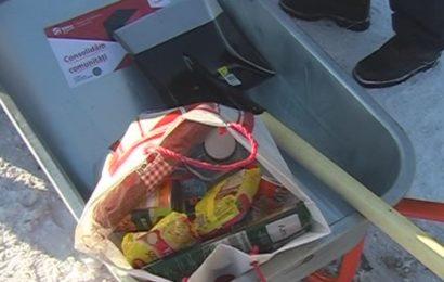 Kaufland a dat 350 de kituri pentru deszapezirea locuintelor din Braila