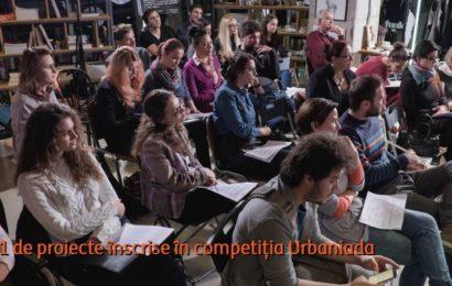 51 de proiecte înscrise în competiția Urbaniada