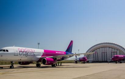 Wizz Air sarbatoreste 8 ani in Timisoara