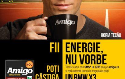 Noua campanie Amigo marchează asocierea brandului cu Horia Tecău