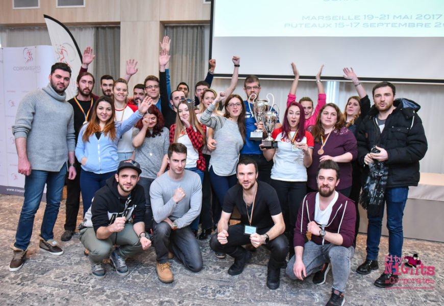 CGS Romania, 2 trofee și 15 medalii la Winter Corporate Games