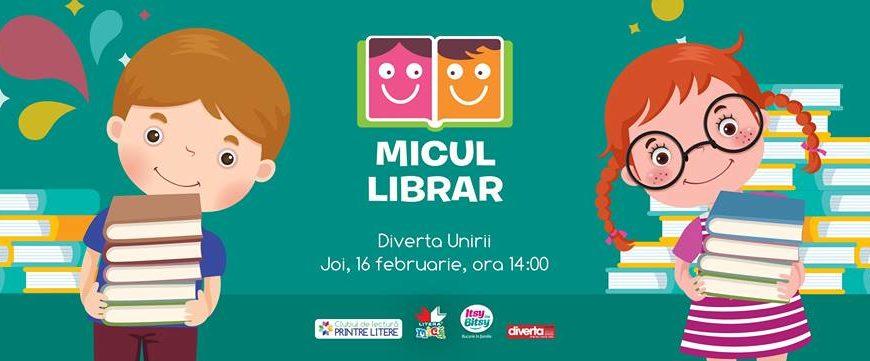 Diverta si Editura Litera: Micul librar, o campanie dedicată copiilor și cărților