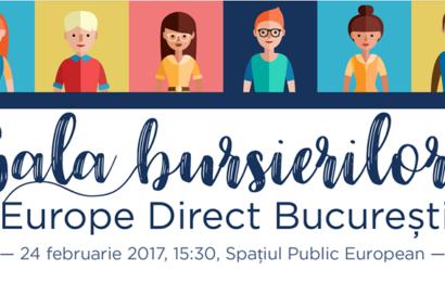 CIED București va premia tinerii implicati in activitățile Europe Direct