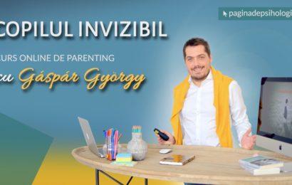 Psihologul Gáspár György lansează în premieră un curs online de parenting
