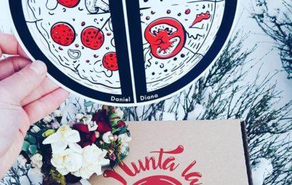 Ajun de Valentine's Day: Prima nunta la Pizza Hut