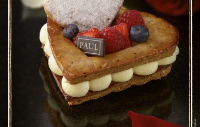 Brutăriile Paul includ în meniu o colecție de deserturi pentru indragostiti