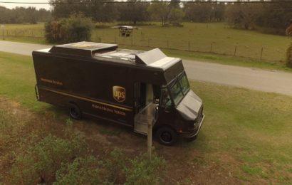 UPS testeaza livrarea rezidentiala cu drone