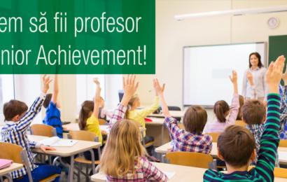 Junior Achievement: Abilități pentru viață și carieră dezvoltate la gimnaziu și liceu
