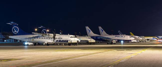 """""""Dragobetele"""", in Aeroportul Henri Coanda"""