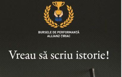 Allianz-Tiriac acorda burse de perfomanta pentru tinerii sportivi