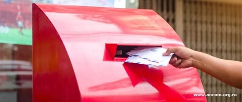 ANCOM propune noi indicatori statistici privind serviciile poștale