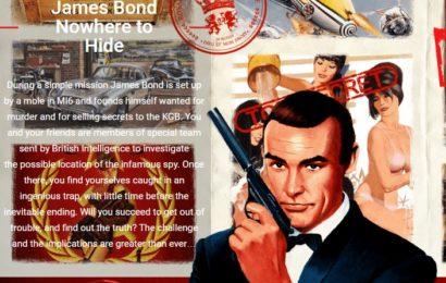 """Captive Escape Room  a deschis camera """"James Bond – Nowhere to hide"""""""