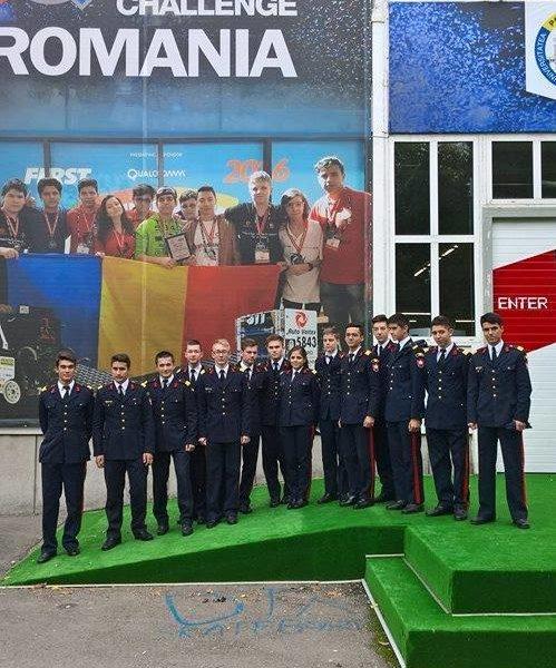Elevii militari de la Breaza participă la BRD FIRST Tech Challenge Romania powered by Vodafone