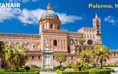 Ryanair: Noi zboruri de iarna catre Palermo si zboruri extra catre Bristol