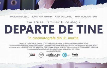 """Maia Morgenstern revine în cinematografe cu filmul """"Departe de tine"""""""