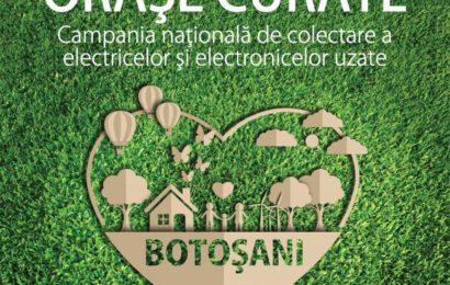 """ECOTIC : """"Orașe Curate"""" revine în Botoșani"""