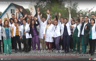 Fundația Vodafone România finanțează Caravana cu Medici cu 180.000 de lei