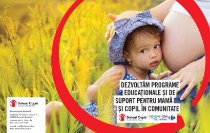 Carrefour si Salvati Copiii continua efortul de combatere a mortalitatii infantile