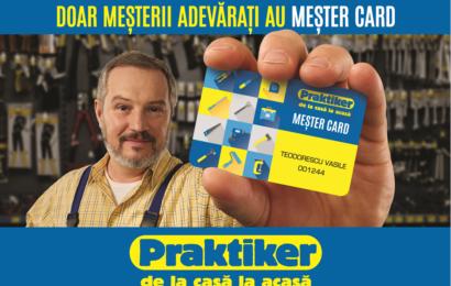Mester Card, acum la Praktiker cu un plus de avantaje