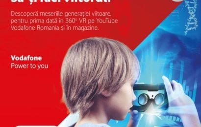 Vodafone România ilustrează meseriile viitorului cu ajutorul realității virtuale