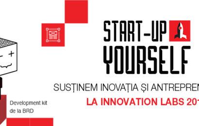 Innovation Labs 2017: BRD susține inovația și antreprenoriatul