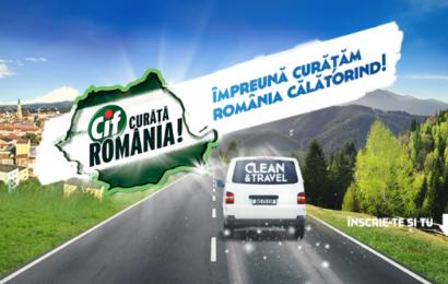 """Cif : programul """"Împreună Curăţăm România Călătorind!"""" este lansat pentru al patrulea an consecutiv"""