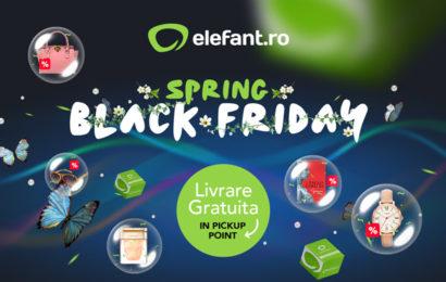 La noapte, Elefant.ro dă startul la Spring Black Friday