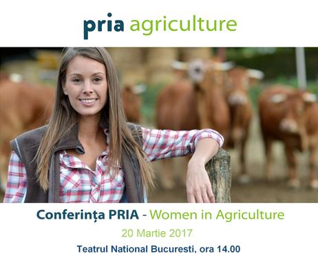 Lectori importanți, la Gala PRIA Women in Agriculture
