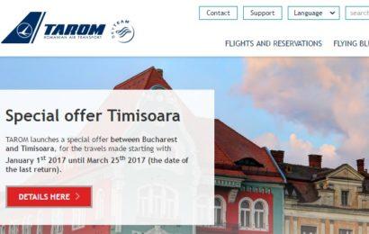 Tarom a lansat platforma de divertisment AirFi