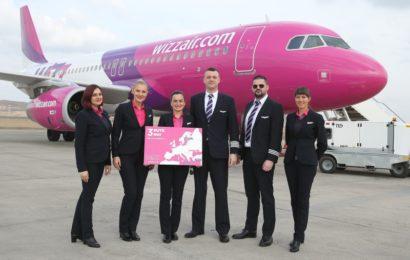 Wizz Air anunță trei rute noi din Cluj-Napoca
