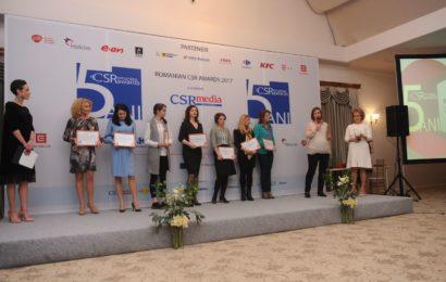 Romanian CSR Awards 2017 si-a desemnat castigatorii
