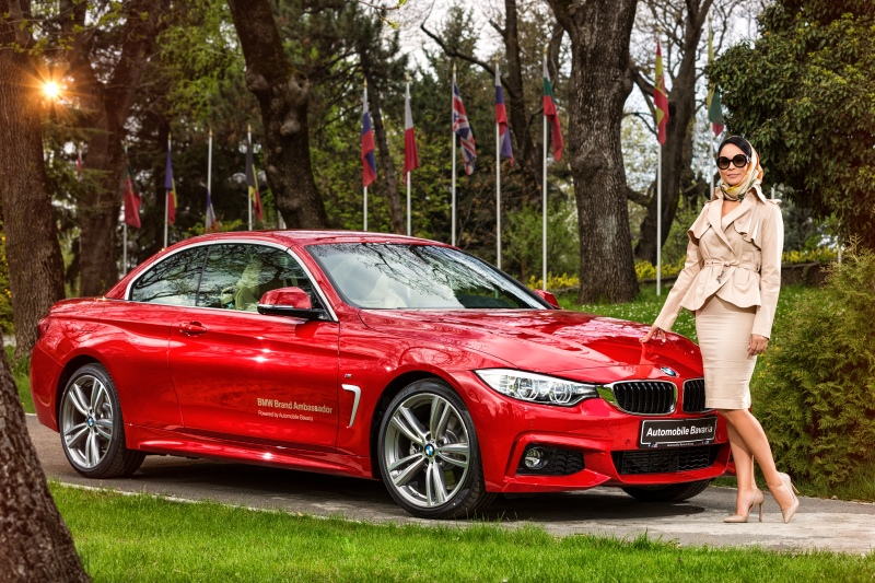 Andreea Marin – ambasador oficial al Automobile Bavaria Group