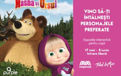 Masha și Ursul la Mega Mall : Trei săptămâni de distracție pentru copii
