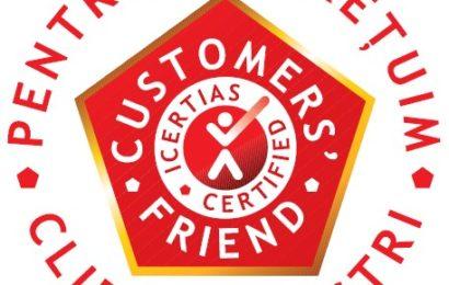 Programul internaţional ICERTIAS Customers' Friend este acum disponibil și în România