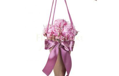 FlorideLux : Bouqs2Go, vitrina frigorifică cu flori