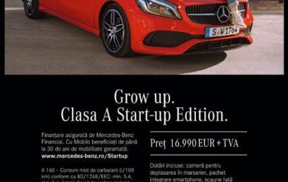 Grow up – Noua campanie de imagine marca Mercedes-Benz
