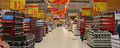 Carrefour a deschis primul supermarket din Făgăraș