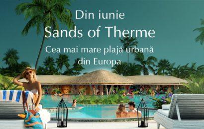 Therme București lansează cea mai mare plajă urbană din Europa
