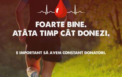 Mega Image incepe demersul de sustinere a donatorilor de sange