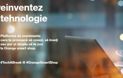Tech a Break : Pauza de tehnologie din Orange smart shop