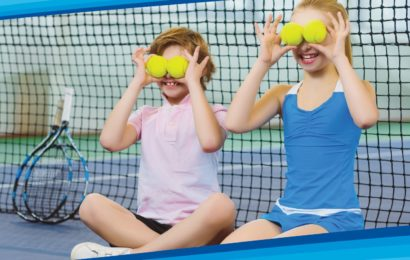 Fundatia Olimpica Romana ofera cursuri gratuite de initiere in tenis, pentru copii