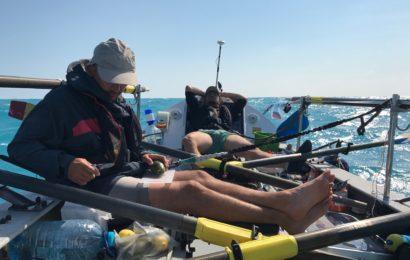Atlantic4 a stabilit un nou record de traversare a Marii Negre intr-o ambarcatiune cu vasle