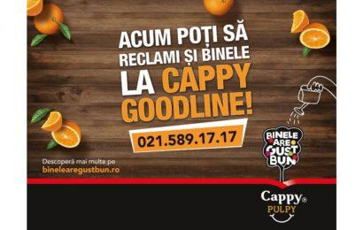 """Cappy lansează campania """"Binele are gust bun"""""""