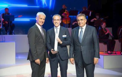 Bridgestone primeşte recunoaşterea Volkswagen Group Award