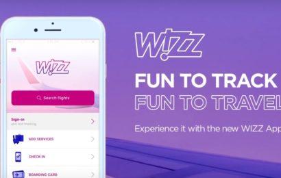 Wizz Air lanseză o nouă aplicație pentru dispozitive mobile