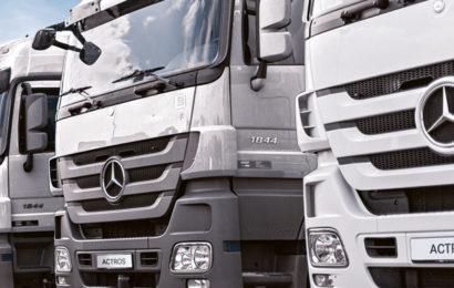 Mercedes-Benz : Autocamioane rulate la prețuri avantajoase